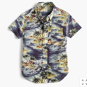 "J. Crew ""Crew Cuts"" Hawaiian Shirt"